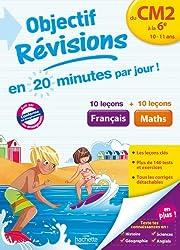 Objectif Révisions Français-Maths du CM2 à la 6e