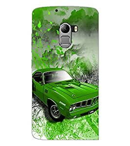 PrintDhaba Car D-4390 Back Case Cover for LENOVO VIBE K4 NOTE (Multi-Coloured)