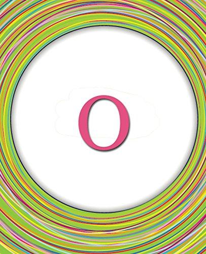 Circles Monogram Notebook O