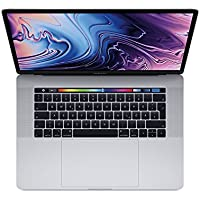 "Apple Macbook Pro, 15,4"" Display, Touchbar, Intel 6-Core i7 2,2 GHz, 256 GB SSD, 16 GB RAM, 2018, Silber"