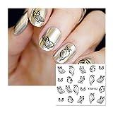 Manicure strumenti per unghie, False Nail Skills Esercizio Vetrina Stent Magnetic Manicure Strumenti (A)