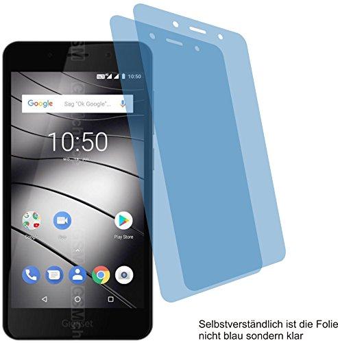 2X Crystal Clear klar Schutzfolie für Gigaset GS180 Bildschirmschutzfolie Displayschutzfolie Schutzhülle Bildschirmschutz Bildschirmfolie Folie