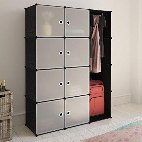 Kleiderschrank Schlafzimmer Garderobe Schrank Massivholz Drehtürenschrank