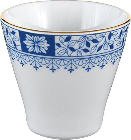 Seltmann Weiden 6-pk egg cups porcelain blue