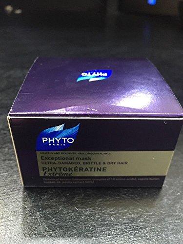 Preisvergleich Produktbild Phyto Phytokératine Extrême außergewöhnlichen Maske für ultra-damaged, brüchiges und trockenes Haar 50ml