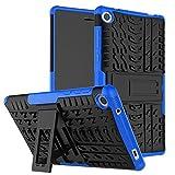 KATUMO Custodia Cover Compatibile con Lenovo TB3-730X 7 Pollici, Rugged Heavy Duty Hard Back Custodia con Kickstand per Lenovo Tab 3 7 Tablet (TB3-730F/TB3-730X/TB3-730M)