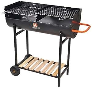 Laguiole 5BBQ042LG - Barbecue a carbone a mezzo fusto, 93 x 100 x 43 cm