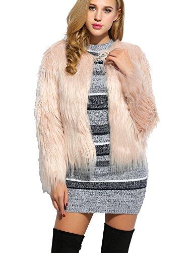 CRAVOG Damen Mantel Gr. M, Short Pink