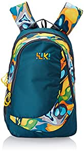 Wildcraft Wiki Daypack 25 liters Green Casual Backpack (8903338048626)
