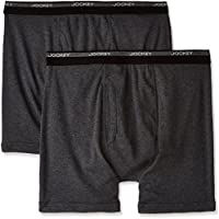 Jockey Men's Boxer Brief , Assorted, XL, Pack of 2