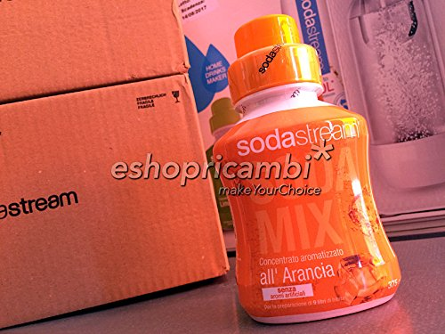 5+1 Omaggio Concentrati Sodastream all'Arancia (375 ml x 6)