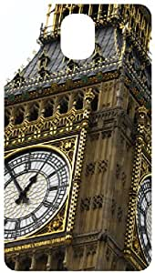 Clock Tower Back Cover Case for Samsung Galaxy Note 3 / NIII / N3 / N9000
