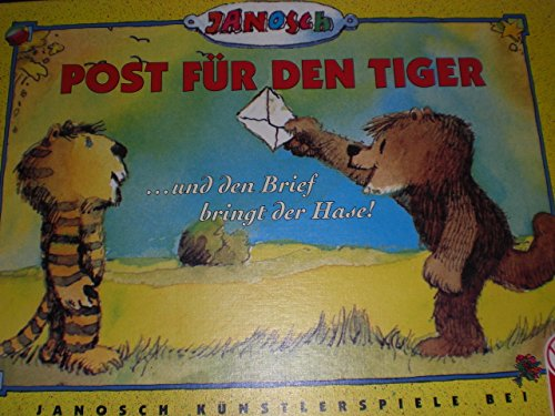 Janosch Post für den Tiger ... und den Brief bringt der Hase!