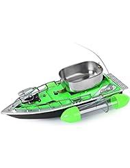 Gearbest Mini RC Bateau de Pêche Bateau à appâts Anti Herbe 200M Télécommande