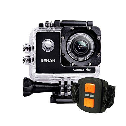 KEHAN C60 Pro Mini Wi-Fi Telecomando Action Camera Impermeabile HD