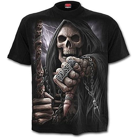 Boss reaper- T-shirt reaper squelette - Homme-XL
