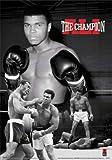empireposter - Ali, Muhammad - Montage 3D Poster - Größe (cm), ca. 47x67 - 3D Poster, NEU - schwarz-weiss
