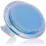 Eizur Peeling Body Bürste eingewachsene Haarbürste beseitigt Borstenbürste für die Behandlung und Verhütung Rasierer Beulen und eingewachsenen Haare für Gesicht, Achselhöhle, Beine, Bikini Linie