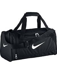 Nike Brasilia 6 Duffel X-Small - Bolsa unisex, color negro / blanco, talla única