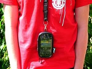 Boitier Etanche Fermeture Eclair Avec Dragonne Pour Blackberry Bold 9700
