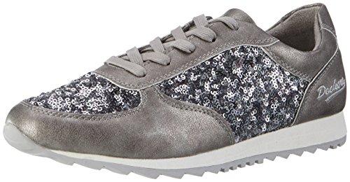 Dockers by Gerli 38ml209-687200, Sneakers Basses Femme Gris (Grau 200)