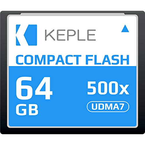 CF 64 GB Tarjeta Memoria Compact Flash 500x Velocidad