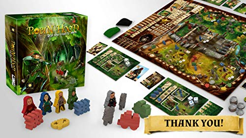 Robin Hood And The Merry Men Board Game (engl.) -