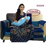 Hoopa Hoopa Infant Carrier, Blue | Feeding Pillow | Baby Carrier | Infant Carrier | Reclined Carrier