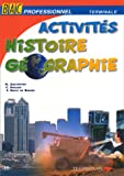 Image de Histoire-géographie, bac pro - terminale. Livre de l'élève