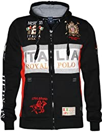 Geographical Norway WK306H/GN - Sweat-shirt à capuche - Manches longues - Homme