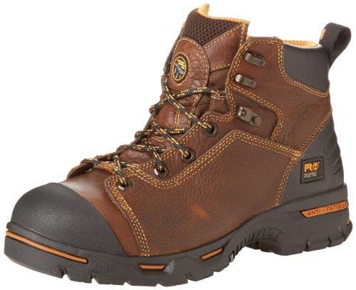 Timberland PRO Men's Endurance PRO Waterproof 6 Work Boot,Rancher Brown,12 W