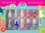 SUNCOAT GIRL Flare & Fancy Kit de 10 Mini Vernis pour Enfant