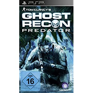 Tom Clancy's Ghost Recon – Predator – [Sony PSP]