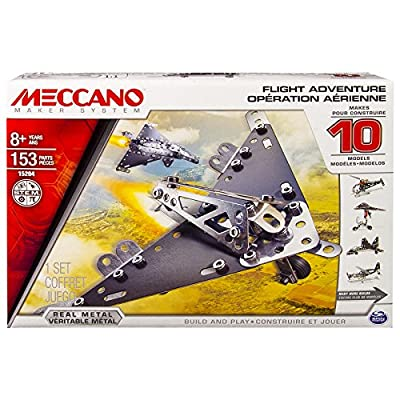 Meccano Flight Model Set (10-Piece)