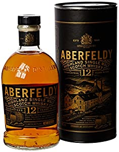 Aberfeldy 12 Year Old Single Malt Scotch Whisky, 70 cl by Aberfeldy