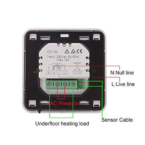 Gut bekannt BAYTTER® Digital 2x Raumtemperaturregler Raumthermostat Thermostat ZM83