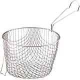 KitchenCraft Extra-Deep Wire Chip Fryer Basket, 19 cm (to Fit 20 cm Pan)