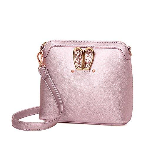 VOLSGEAT Borsa Messenger, Pink (rosa) - 8C0E Pink