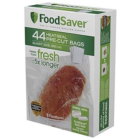 Tilia FSFSBF0226-000 1qt FoodSaver Bag - 44ct