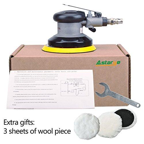 Schleifmaschine Astarye Air Palm Pneumatische Werkzeuge Poliermaschinen Zufällige Vibrator (Pneumatische Werkzeuge Zubehör)