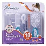 Dreambaby F330 Universal Baby-Pflege-Set alle Pflegeartikel Erstausstattungs-Set Baby-Haarpflege Nagelpflege 10-teilig, aqua