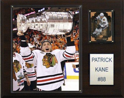 C & I Collectables NHL Patrick Kane mit Stanley-Cup-Chicago Blackhawks Spieler Plaque (Cup Blackhawks Chicago Stanley)