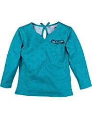 Zunstar Zara - Sudadera de náutica para niña, color azul petróleo, talla UK: Talla 74/80