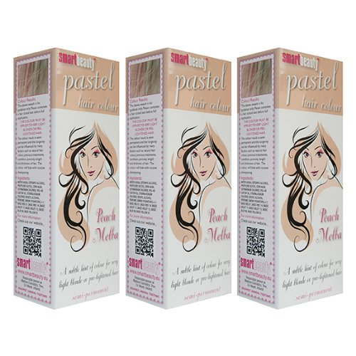 smart-pastell-pfirsich-melba-haar-farbe-x-3