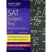 SAT Subject Test Mathematics Level 1, Tenth Edition
