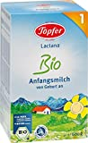 Töpfer Lactana Bio 1 Anfangsmilch - von Geburt an, 3er Pack (3 x 600g)