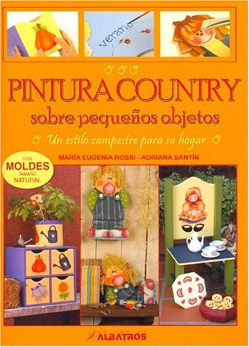 PINTURA COUNTRY SOBRE PEQUEÑOS OBJETOS