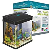 All Pond Solutions Nano Aquarium/Lampes LED, Petit, 7 Litre, Noir