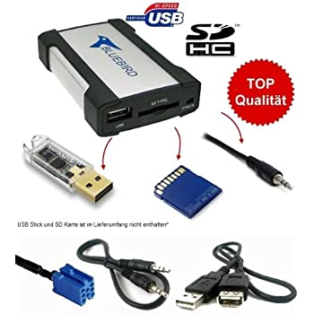 usb mp3 aux sd cd adapter wechsler vol sc auto. Black Bedroom Furniture Sets. Home Design Ideas