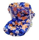 #8: Flipzon Multicolour Baby Carry Cot (Blue)